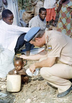 Casque Bleu au Rwanda