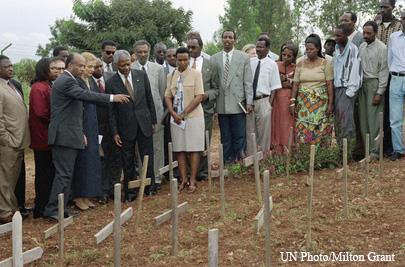 24ème anniversaire du génocide Rwandais