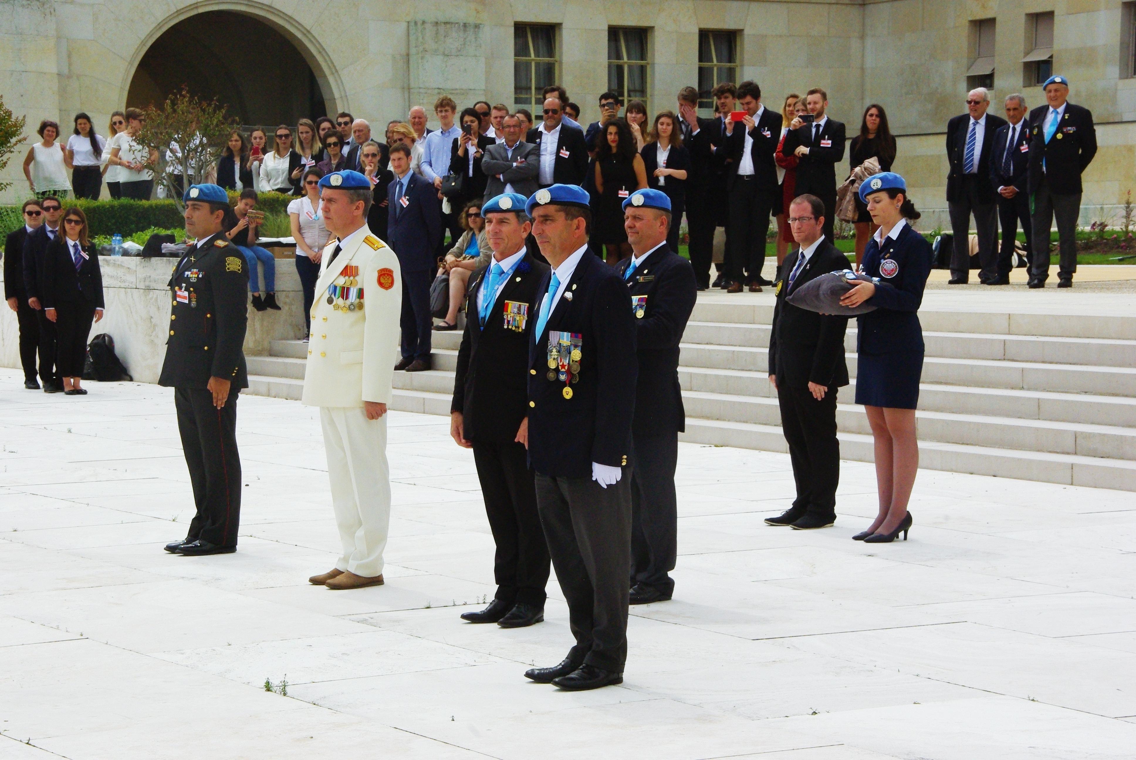Journée internationale des casques bleus