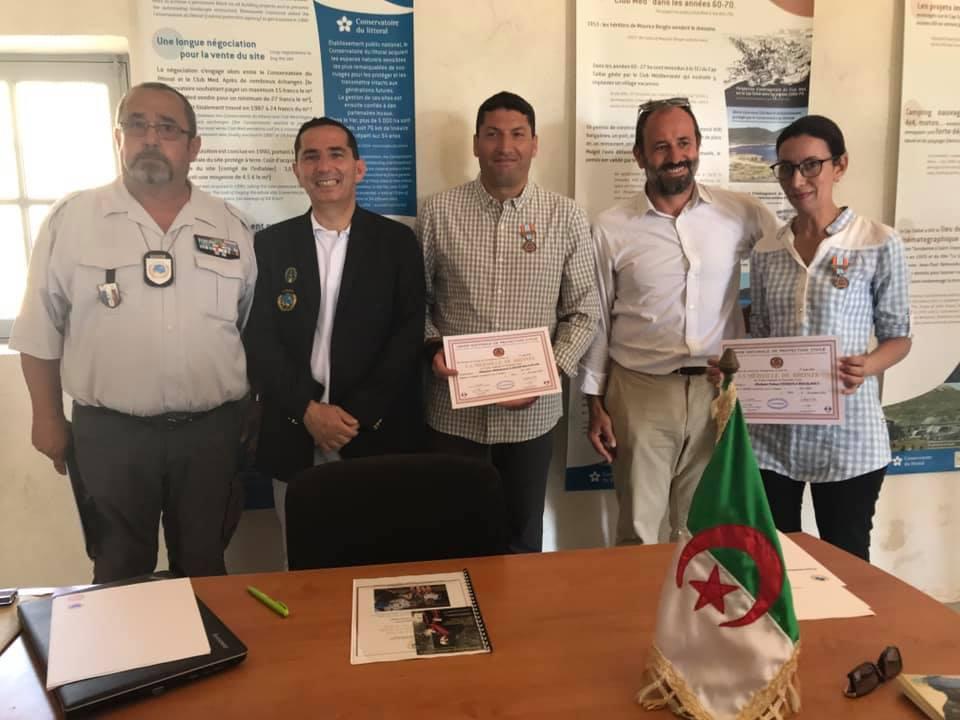 L'AISP soutient le projet COGITO pour la protection des sites naturels