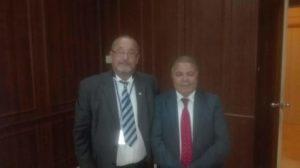 Photos avec le Gouverneur de BIZERTE