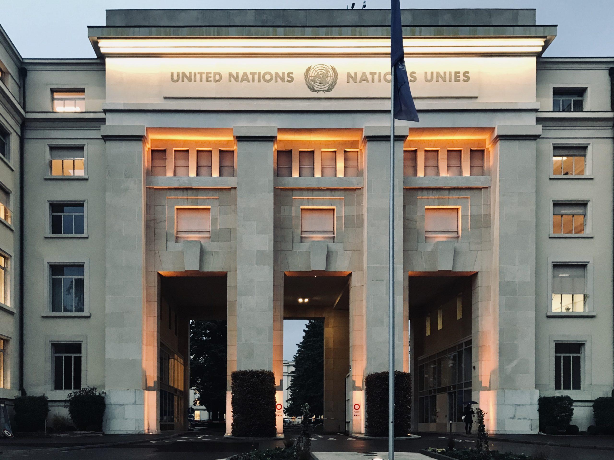 Conférence « Education, langue et droits de l'homme des minorités », ONU, Genève.