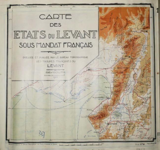 """Le mandat français aux """"Etats du Levant"""", en particulier au Liban"""