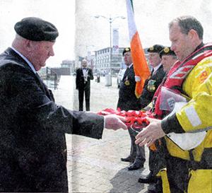 Wexford a rendu un hommage solennel à ses fils qui ont combattu dans la bataille de Jutland.