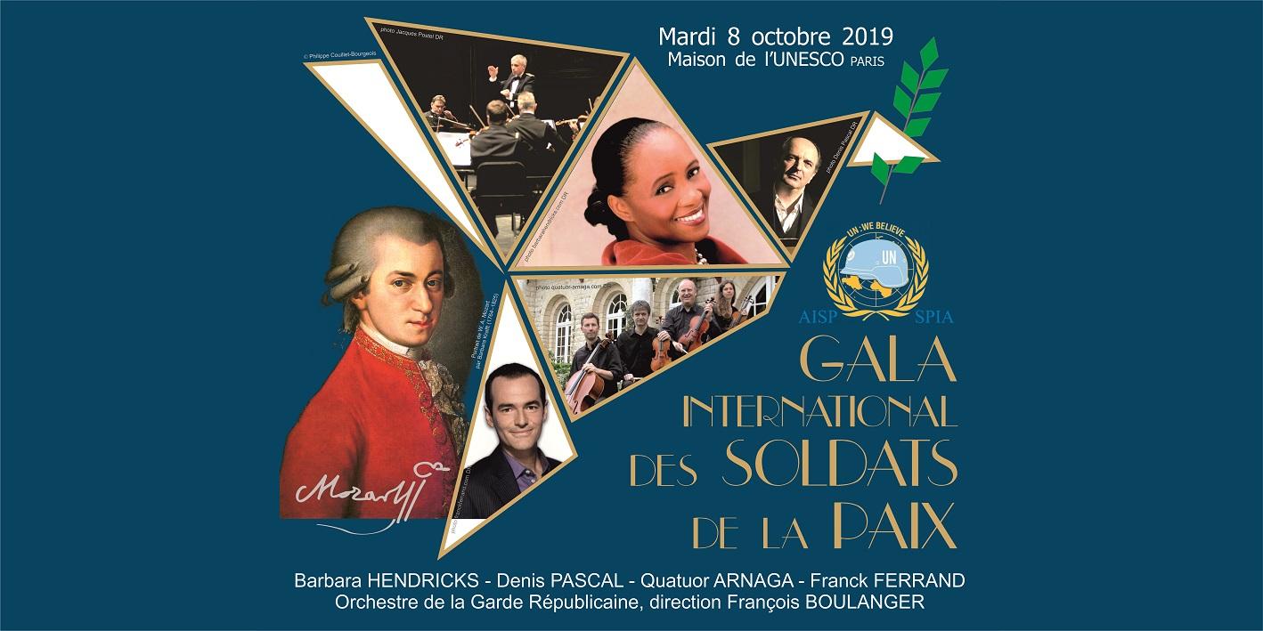 Le 8 octobre 2019 : Gala International à l'Unesco